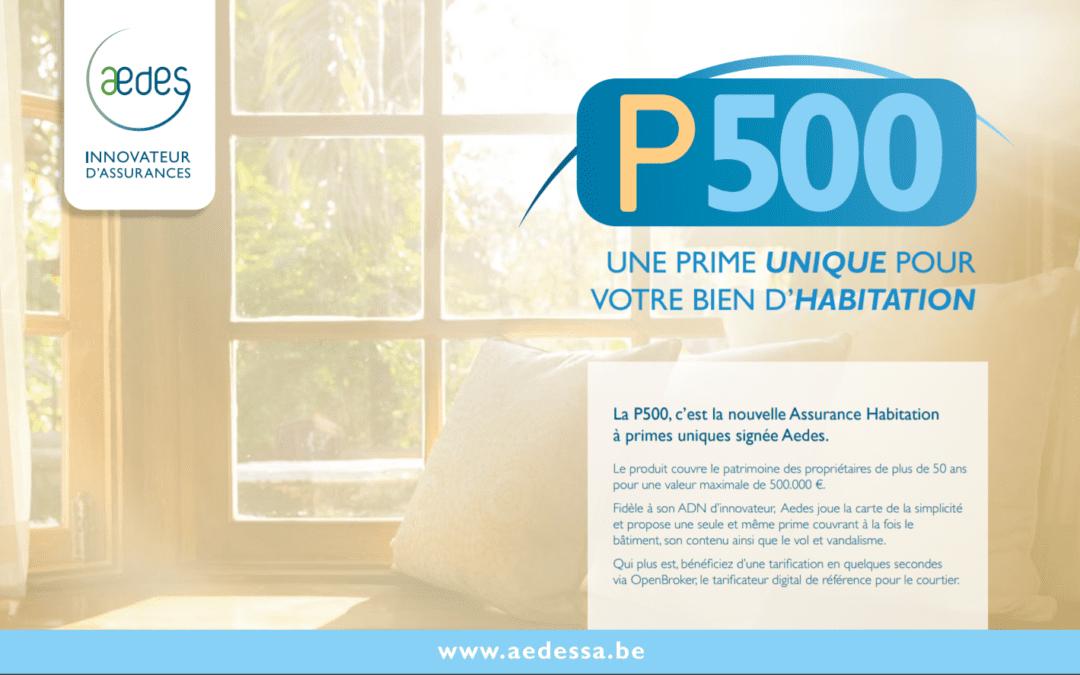 P500 – L'assurance incendie pour les plus de 50 ans
