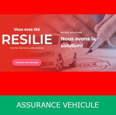 ASSURANCE AUTO POUR CONDUCTEUR RESILIE