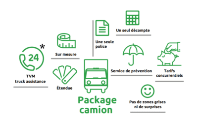 Package camion